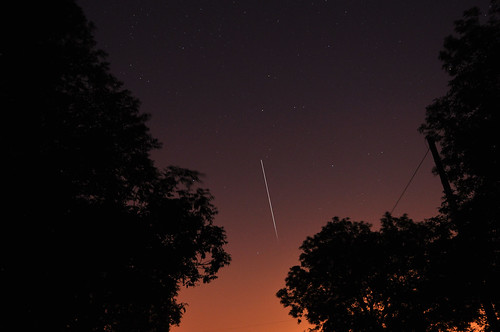 Second composite of tonights ISS pass