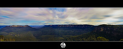 Panorama Blue Mountains (Az. Abdulrahman Alzahim) Tags: travel bridge flowers blue winter sunset sea summer portrait sky panorama food house snow mountains macro art fall sports nature water birds night sunrise canon landscape photography waterfall spring nikon women opera photographer action harbour australia az 200 18 tamron hdr  photographe  2011            1000d   stunningphotogpin best4gpin