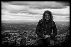 Alice at Mow Cop (1100SP) Tags: cheshire alice sony cop mow alpha plain a580