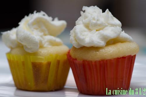 Cupcakes au coconut