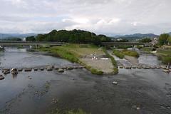 Kamo and Takano Rivers Kyoto