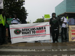London - International Day of Action Against Wars on Africa and African People - Aug 20, 2011 (uhurunews) Tags: london august20 internationaldayofaction blackisbackcoalition