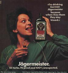 Jgermeister Small Space Ad / 1978 - 1980 (steveartist) Tags: 1978 1980 1979 newyorkmagazine magazineadvertising printadvertisements liquorads jgermeisteradvertising smallspaceads