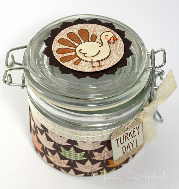 Turkey Day Jar top