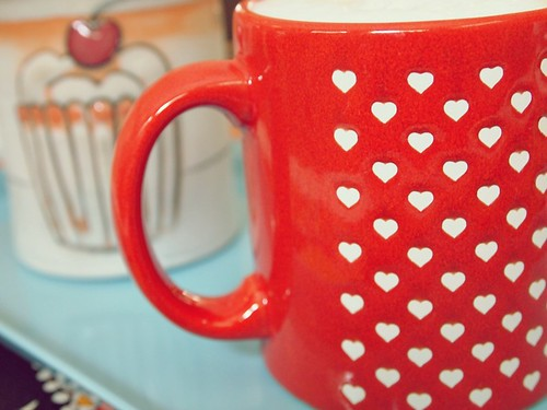 Mug Love - cupcakes & hearts