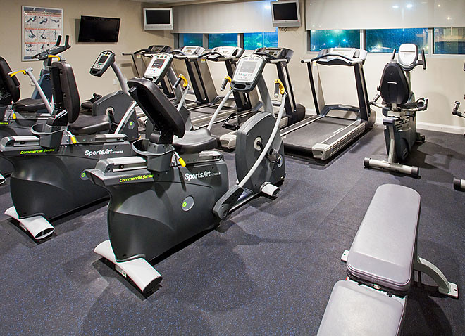 Fitness Center at Crowne Plaza Hollywood Beach Hotel