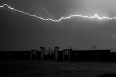Storm chase (Hack Jammer) Tags: storm night long exposure thunderstorm lightning orage stormchasing clair canon500d foudre