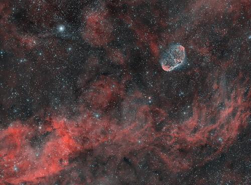 NGC6888-Crescent Nebula (HOO)