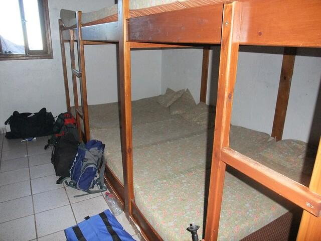 Neltner Hut dorm room