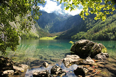 Obersee (Paul Beentjes) Tags: lake green germany bayern deutschland bavaria meer groen paradise duitsland obersee paradijs beieren berchtesgadenerland mygearandme mygearandmepremium mygearandmebronze mygearandmesilver mygearandmegold mygearandmeplatinum mygearandmediamond