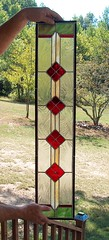 Stained Glass Panel (beaded glass) Tags: window panel stainedglass sidelight