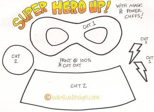 Super hero tutorial baby lux design superhero02 maxwellsz
