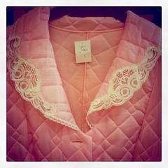 Fancy dressing gown