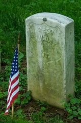 Headstone of Civil War Veteran William H. Day, Antietam National Cemetery, Sharpsburg, MD. (goldenanchor) Tags: civilwarveteran sharpsburgmd antietamnationalcemetery 1stvermontcavalry williamhday