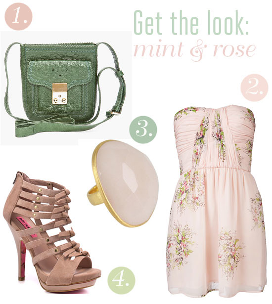 mint and rose inspiration