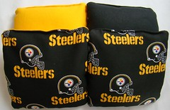 Pittsburgh Steelers Cornhole Bags