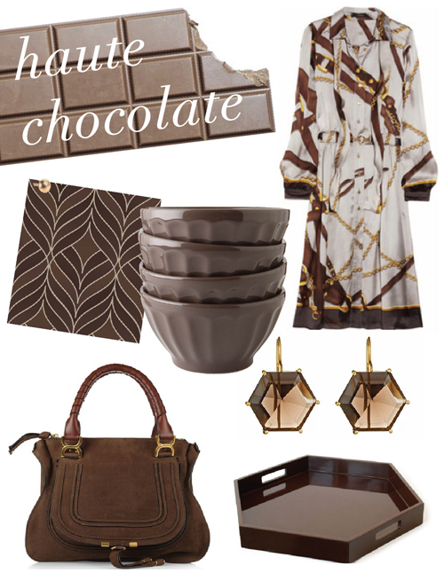 haute chocolate brown color trend c+k
