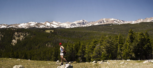 Wind River Mountains Panorama