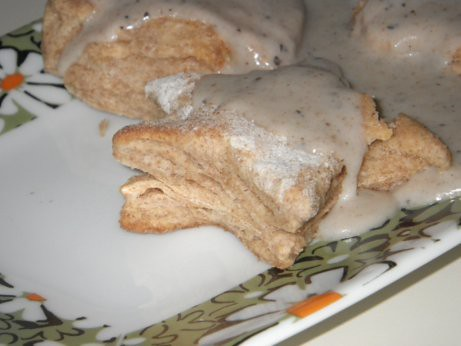 vegan biscuits gravy