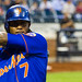 Jose Reyes takes a swing