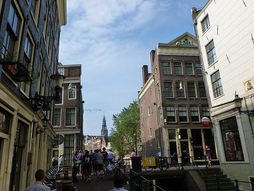 On the streets of Amsterdam