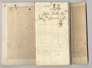 Libricino dei crediti di Margherita Bonicelli, 1724, ALPE, Testatori, Bonicelli Margherita