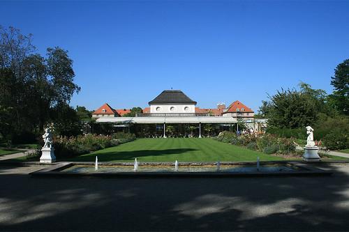 Gartencafé - Hinterer Teil - Botanischer Garten