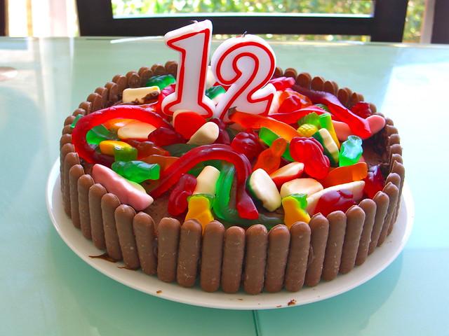 Oscar's 12 cake