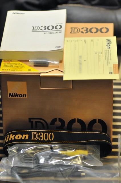 Nikon D300拍賣