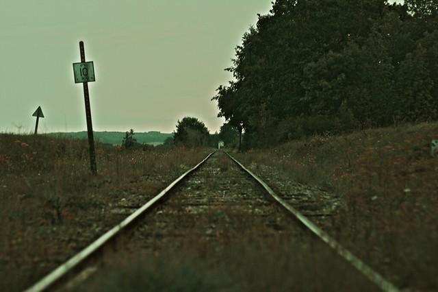 voie ferrée - Nuits sous Ravières à Châtillon sur seine