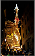 Santa Rosa (Maurizio M.) Tags: santa city 3 streets men feet del back transport machine rosa mini september m celebration cielo da alta festa fiore settembre macchina viterbo piedi patron vie citta maurizio uomini facchini festeggiamenti trasporto mercuri tuscia spalle ricorrenza