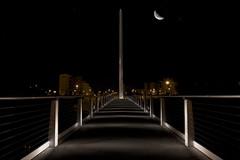 ponte notturno (paolopiv) Tags: bridge moon night luna ponte notte croce notturno casalecchio crocedicasalecchio