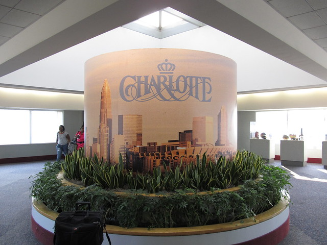Welcome to Charlotte, Charlotte International Airport, Charlotte, North Carolina