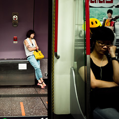 Difference (terencehonin) Tags: leica 35mm subway hongkong voigtlander voigtlaender asph voigtländer f12 m9 mtr m9p