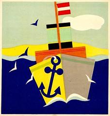Austrian navy (arthurvankruining) Tags: seagulls dutch ship picturebook