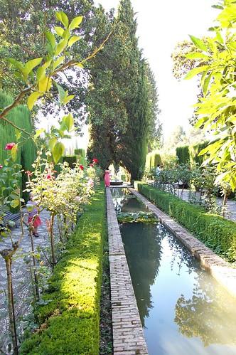 Alhambra-Generalife Gardens 2