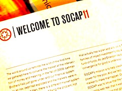 Welcome to SOCAP11