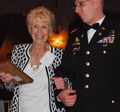 Mrs. Koch receives award