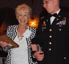 Mrs. Koch receives award
