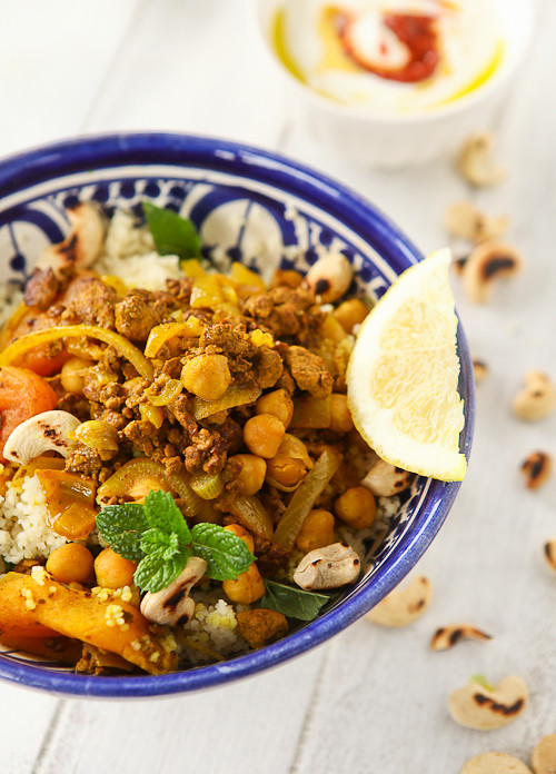 Couscous with quorn