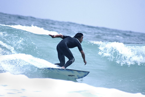 Shirahama. on the surf VII