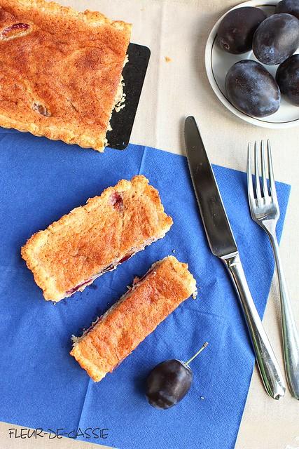 сливовый тарт с франжипаном 2