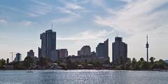 uno city (www.toprq.com/iphone) Tags: vienna city lake canon river landscape eos dof uno 7d f28 ef danube donau 1635mm dunaj