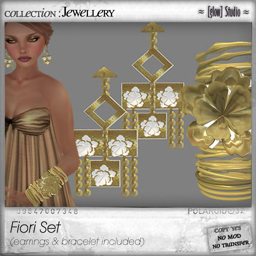[ glow ] studio Fiori Set Gold GIFT