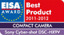 Logo de EISA AWARD Best product 2011-2012 Compact Camera