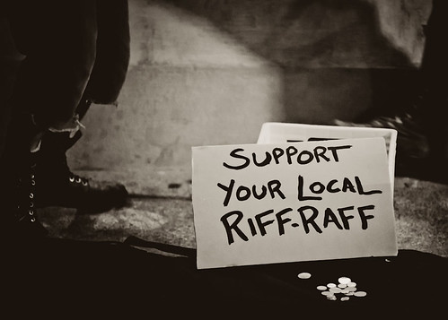 Support Your Local Riff-Raff by Krista Kruger