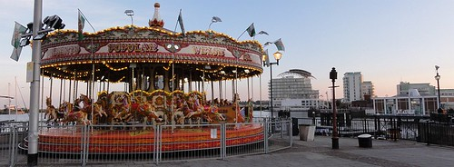 Carousel at Cardiff Bay