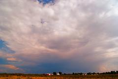 distant thunder (LaLa83) Tags: blue ohio sky storm field clouds farm september 2011 fairfieldcounty ruralohio stoutsville