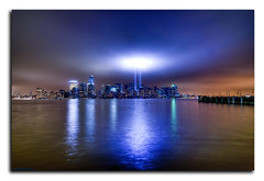 Inspiration (Jersey JJ) Tags: world light manhattan 911 center wtc tribute trade hdr photomatix