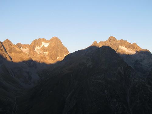 Sonnenaufgang an Watzespitze